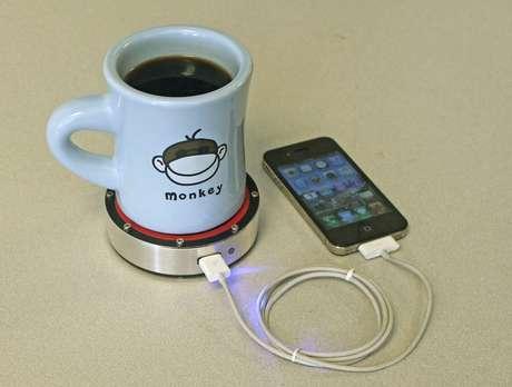 Recarga funciona para qualquer aparelho que tenha conexão USB para alimentação de energia
