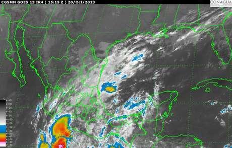 <p>'Sonia' es el ciclón número 18 de esta temporada en el Océano Pacífico, generará potencial de lluvia torrencial en Sinaloa; intensa en Chihuahua y Durango; precipitaciones muy fuertes en Sonora, Baja California Sur y Nayarit; así como precipitaciones fuertes en Colima, Michoacán y Jalisco.</p>
