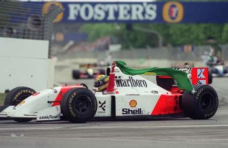<p>Vitória na Austrália encerrou parceria de Senna com McLaren; foi a última do brasileiro na Fórmula 1</p>