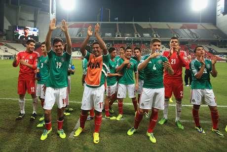 México venceu Argentina nesta terça
