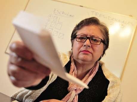 Sonia Bello Navarrete, fue vocal de mesa en las elecciones desde 1988 hasta 2009.