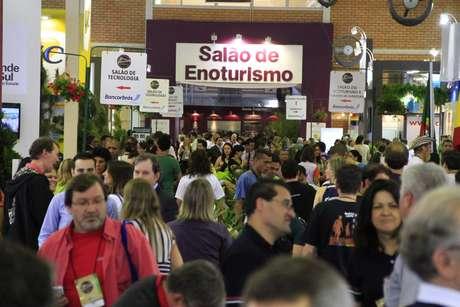 <p>A edição de 2012 do evento recebeu cerca de 14 mil pessoas de 56 países</p>