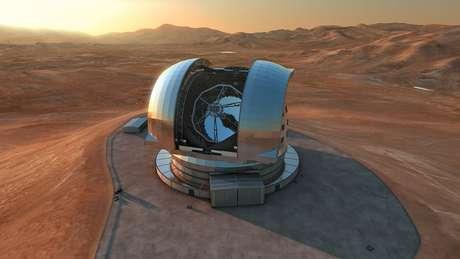 <p>ESO chama o E-ELT de maior olho da humanidade para o espaço</p>