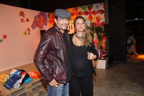 O ator será pai de Davi, filho com a namorada Luhanna Melloni