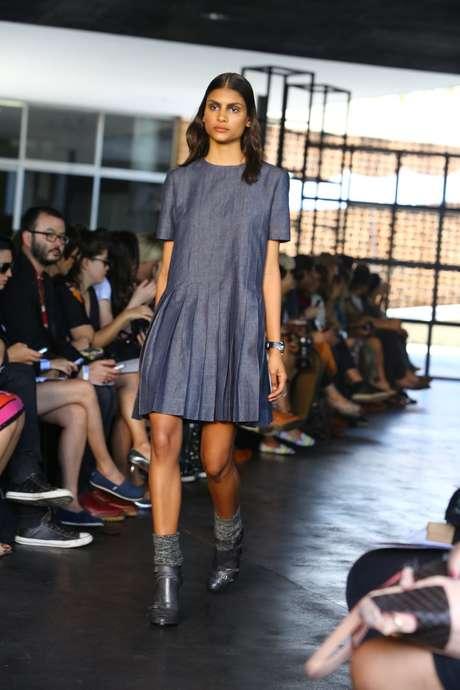Herchcovitch apresentou a coleção de inverno 2014 durante o terceiro dia de Fashion Rio. O desfile do estilista aconteceu no Museu de Arte Moderna do Rio de Janeiro