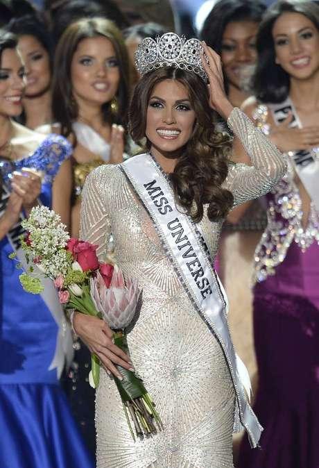 Miss Venezuela se coronó como Miss Universo 2013 gracias a su talento y belleza.