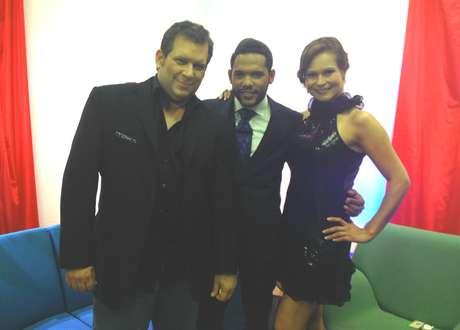 <p>Miguel Ángel Masjuán, Carlos Mejía y Pilar Vargas</p>