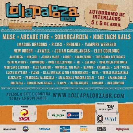 <p>Festival acontecerá em 5 e 6 de abril de 2014, em São Paulo</p>