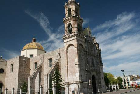 O Templo de San Marcos começou a ser construído em 1655 e só foi inaugurado em 1763