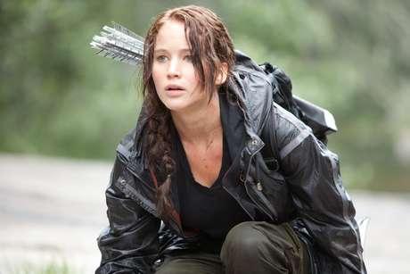 Jennifer Lawrence em cena de 'Jogos Vorazes'