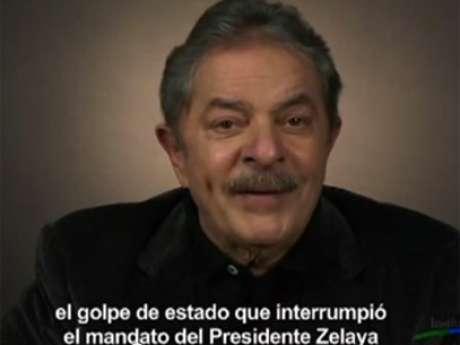 "Lula menciona ""golpe de Estado que interrompeu mandato do presidente Zelaya"""