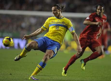 <p>Zlatan buscará lucirse ante su afición y darle a Suecia el boleto a Brasil 2014</p>