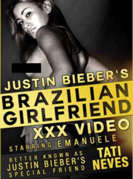 <p>Material XXX de Tati Neves, la joven que durmió con Justin Bieber.</p>