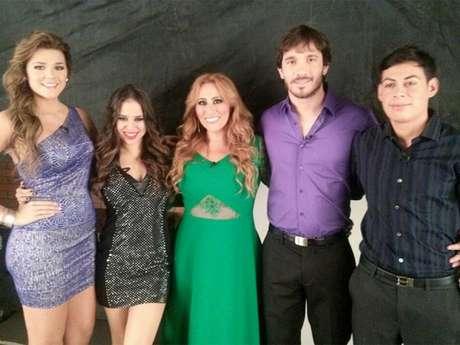 Maria T, Gaby, Analia, Sergio y Juver.