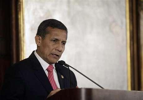 <p>Humala lamentó la muerta de Nelson Mandela mediante su cuenta de Twitter.</p>