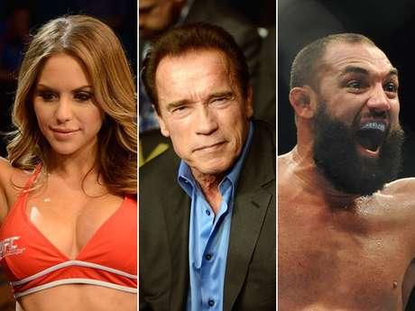UFC 167 tem polêmica, ring girls e Schwarzenegger; veja melhores fotos