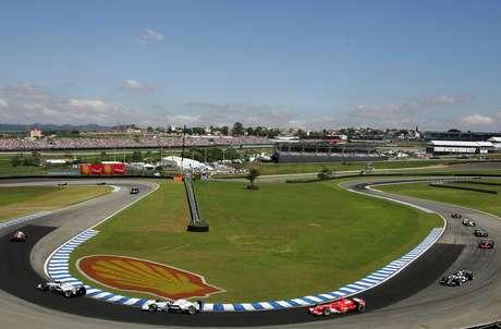 <p>GP do Brasil de Fórmula 1 será realizado neste domingo</p>