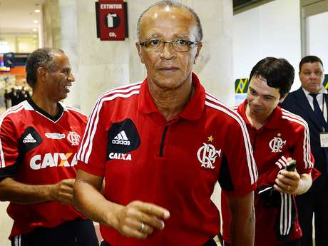 <p>Jayme levou Flamengo ao t&iacute;tulo da Copa do Brasil</p>