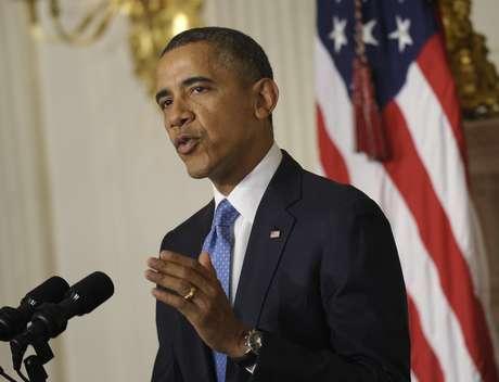"""Obama reiterou que Israel e seus aliados do Golfo """"têm boas razões para ser céticos sobre as intenções do Irã"""", apesar do acordo fechado em Genebra"""