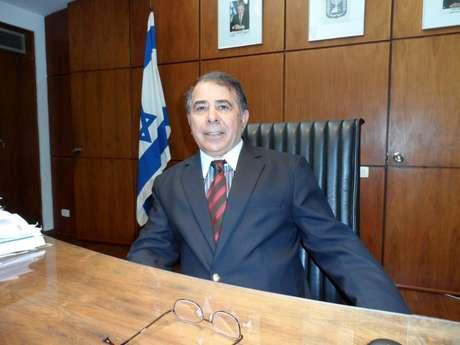 O embaixador de Israel no Brasil, Rafael Eldad