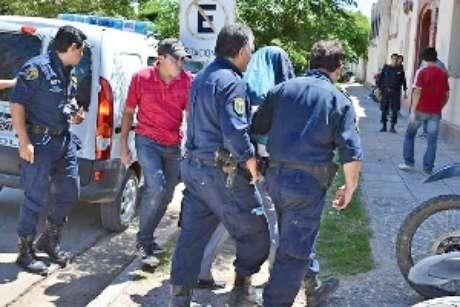 Hisse fue detenido y trasladado a la Policía