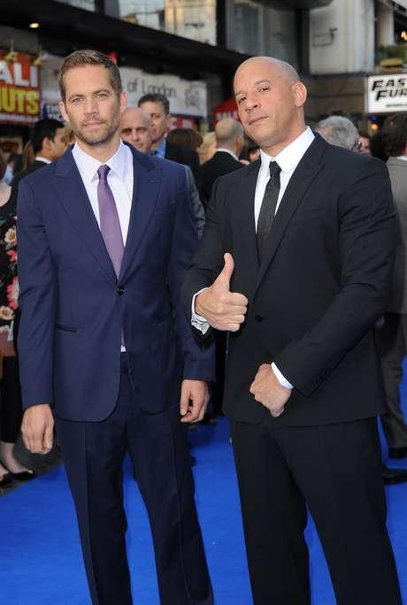 <p>Vin Diesel fue uno de los mejores amigos de Paul Walker</p>
