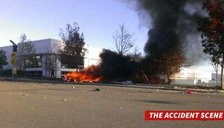 <p>Según el departamento de Policía del condado de Los Ángeles, el accidente tuvo lugar en torno a las 15:30 hora local.</p>