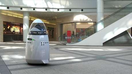 <p>Empresa que criou o K5 disse que robô serviria para segurança eme escolas, hotéis, shoppings</p>