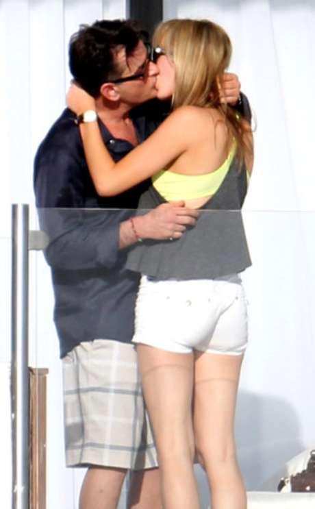 Charlie Sheen y la actriz de cine para adultos disfrutaron de unos días en México.