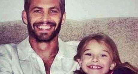 La hija del actor publicó esta fotografía en donde aparece junto asu padre