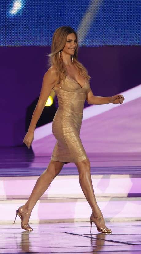 <p>Vestido de Fernanda Lima causou polêmica</p>