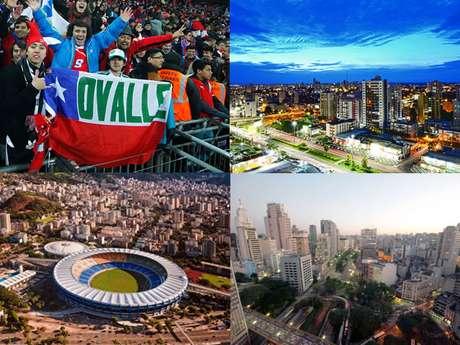 Cuiabá, Río de Janeiro y Sao Paulo será la ruta en primera fase