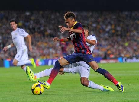 <p>Neymar, atacante do Barcelona</p>