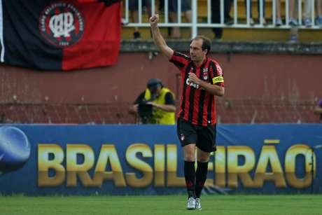 <p>Desde 2009 no clube, Baier fez 192 jogos com a camisa rubro-negra</p>
