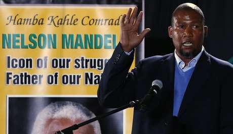 O neto, que discursou após vários dirigentes do partido, lembrou que seu avô deixou três filhos, 18 netos e 12 bisnetos. Mandla repassou também todos os feitos políticos que transformaram seu avô em um herói nacional