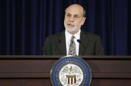 Segundo Ben Bernanke, dados econômicos recentes aumentaram a confiança