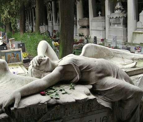 <p>Cemitério Monumental de Staglieno, na Itália, é um dos maiores da Europa</p>