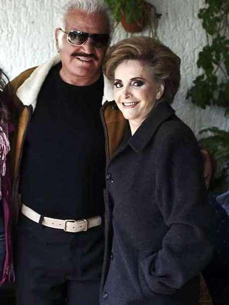 <p>Vicente Fernández y Cuquita Abarca se casaron en 1963 en Huentitán.</p>