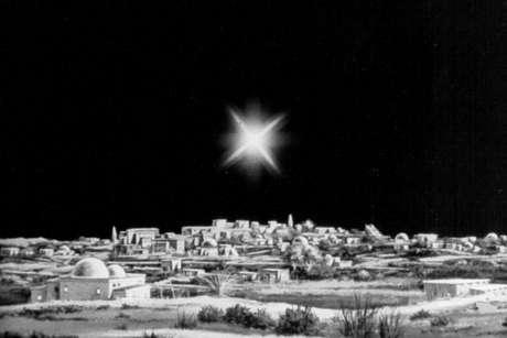 La Estrella de Belén guió a los pastores cuando corrían de noche hacia el encuentro con el Mesías.