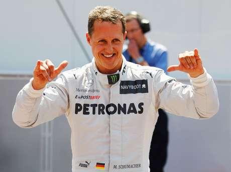 """<p>Segundo rádio, Schumacher sofreu """"sério"""" ferimento na cabeça</p>"""