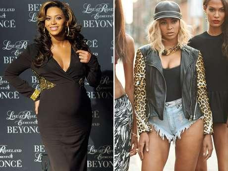 Beyoncé perdeu 30kg após a gravidez e mostrou o corpo em seus novos clipes, lançados em dezembro de 2013