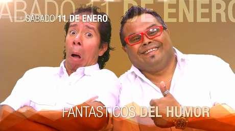 """<p>Así promociona TVN a """"Los fantásticos del humor"""" en Tierra Amarilla.</p>"""