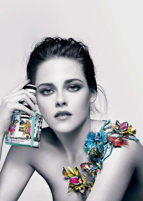 <p>É a terceira vez que a atriz estrela campanha para a marca</p>