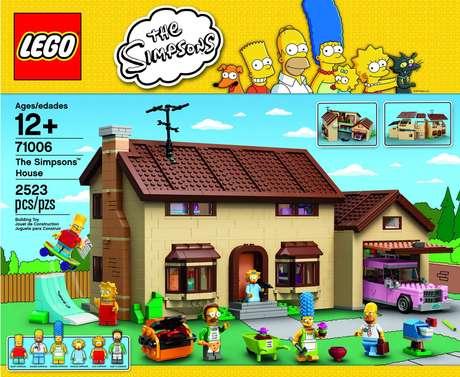 <p>Em parceria com a Fox, Lego terá edição com personagens da série The Simpsons</p>