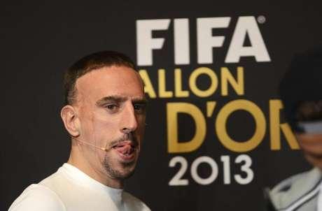 Descontento en Francia con la tercera plaza de Ribéry