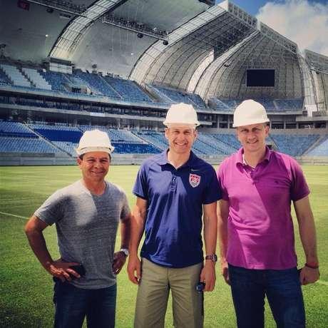 Klinsmann registrou passagem pela Arena das Dunas neste sábado