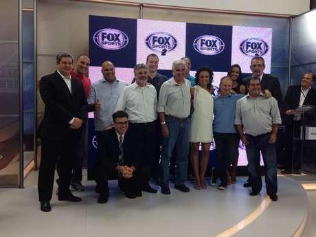 <p>Fox Sports apresenta equipe para seus dois canais</p>