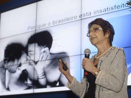 <p>A psiquiatra Carmita Abdo, coordenadora do Programa de Estudos em Sexualidade do Instituto de Psiquiatria do Hospital das Clínicas da Universidade de São Paulo (ProSex), foi a porta-voz para os dados do Brasil</p>