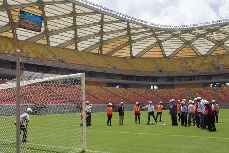 <p>Arena da Amazônia foi recentemente inaugurada</p>