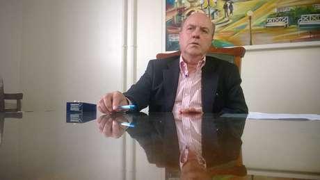 Cezar Schirmer, do PMDB, foi anunciado como titular da pasta nesta tarde